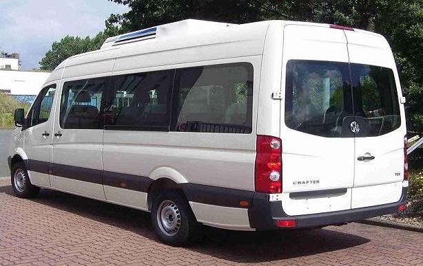 10 Seater Volkswagen Van hire Delhi, Crafter Passenger ...  Minivan