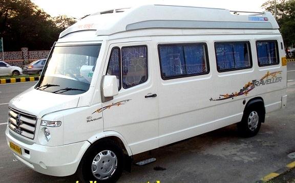 12 Seater Tempo Traveller On Rent India Passenger Van