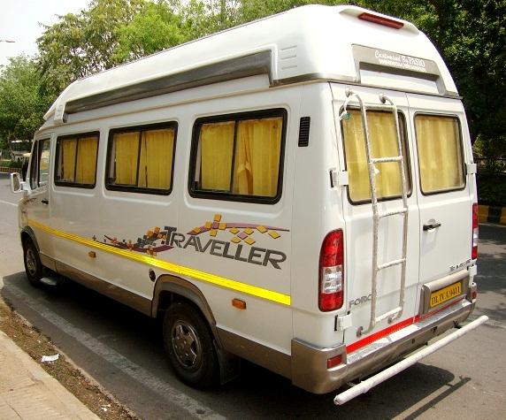 15 Seater Passenger Van Rental Delhi Tempo Traveller Hire