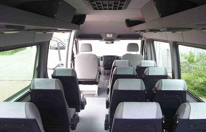 15 Seater Volkswagen Van Hire Delhi Passenger Minivan