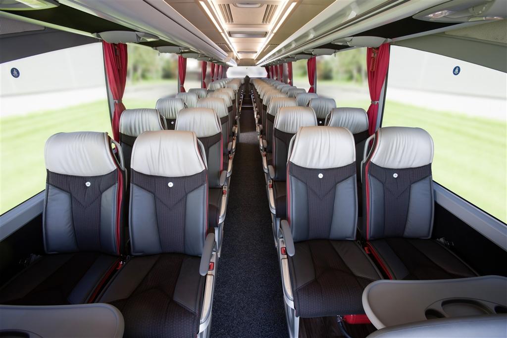 12 Seater Van >> 43 Seater Mercedes Bus Hire Delhi, Mercedes Benz Coach Booking India