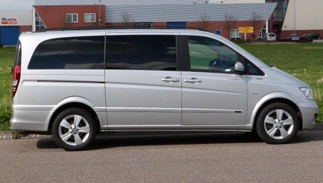 mercedes van seater benz viano box trend dc edition long cdi v6 delivery type passenger luxury rental