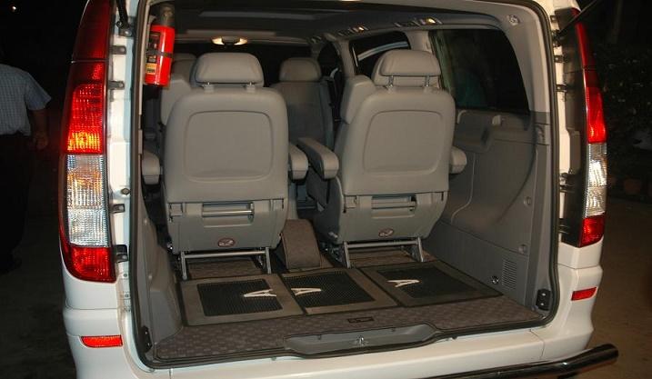 Hire 6 Seater Mercedes Viano Van Delhi Mercedes Passenger
