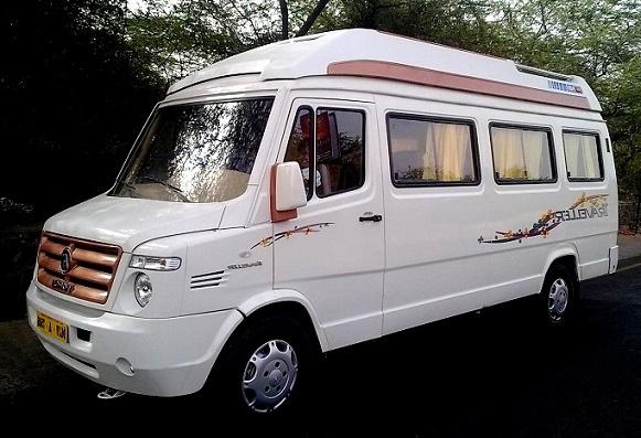 9 seater van hire delhi tempo traveller minivan rental india. Black Bedroom Furniture Sets. Home Design Ideas