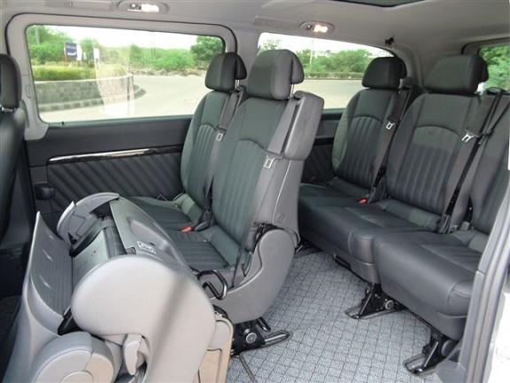 7 seater viano hire delhi, mercedes passenger van rental service india