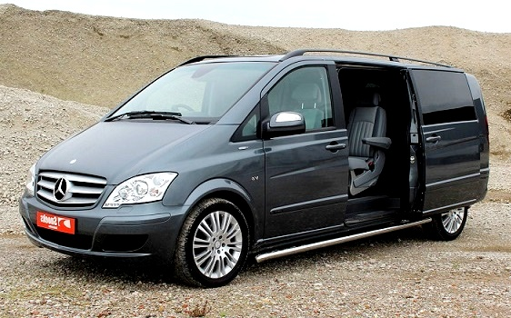 mercedes viano hire delhi luxury passenger van rental india