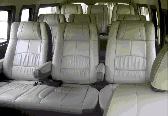 Hire Seater Toyota Commuter Van Delhi Toyota Passenger Rental