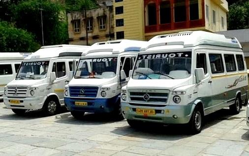 Bus Hire In Chandigarh Luxury Van Booking For Chandigarh Minibus