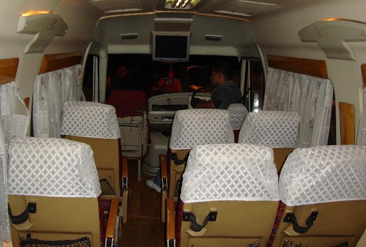 Mercedes Mini Van >> 13 Seater Tempo Traveler Hire Delhi, Minivan Rental India