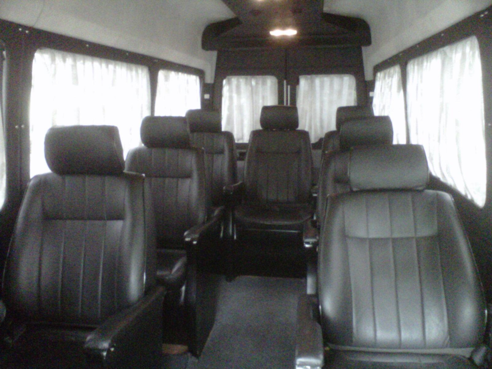 mercedes seater sprinter van benz minivan rent rental luxury india hire