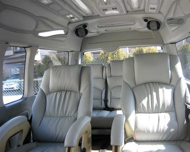 Toyota Hiace Mini Van Hire Delhi, 10 Seater Toyota Van ...