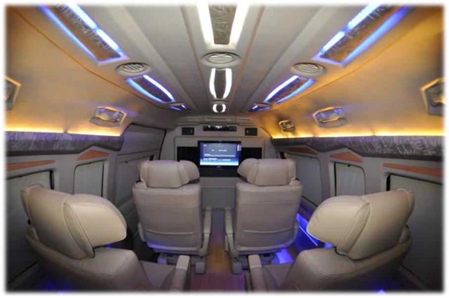 toyota hiace seater van passenger luxury india space minivan power service